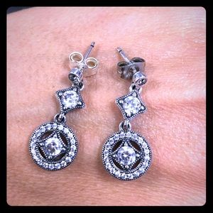 Pandora Hanging Earrings 925 ALE